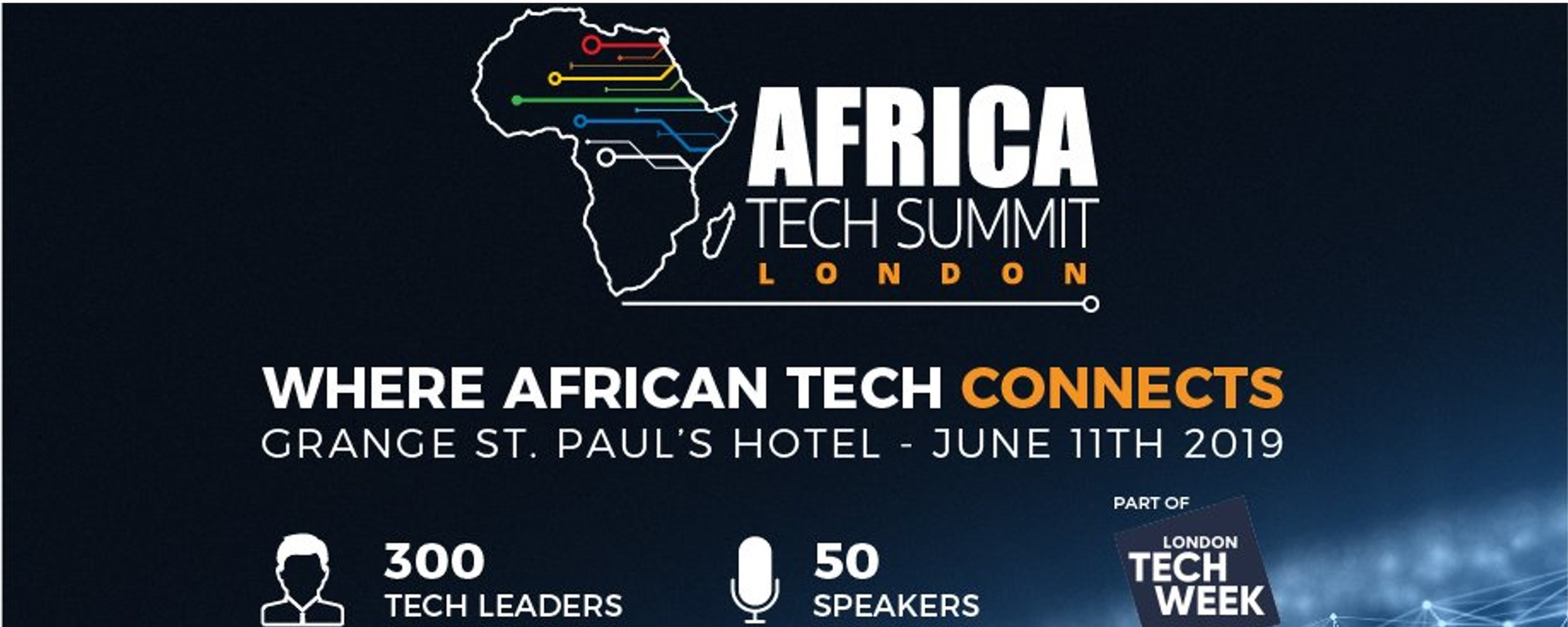 Africa Technology Summit - Africa Tech Summit London 2019 Movemeback African event cover image