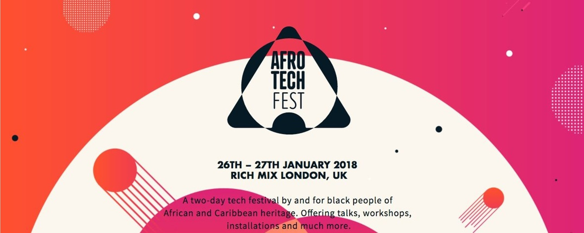 Afrotech Fest - Afrotech Fest Movemeback African event cover image
