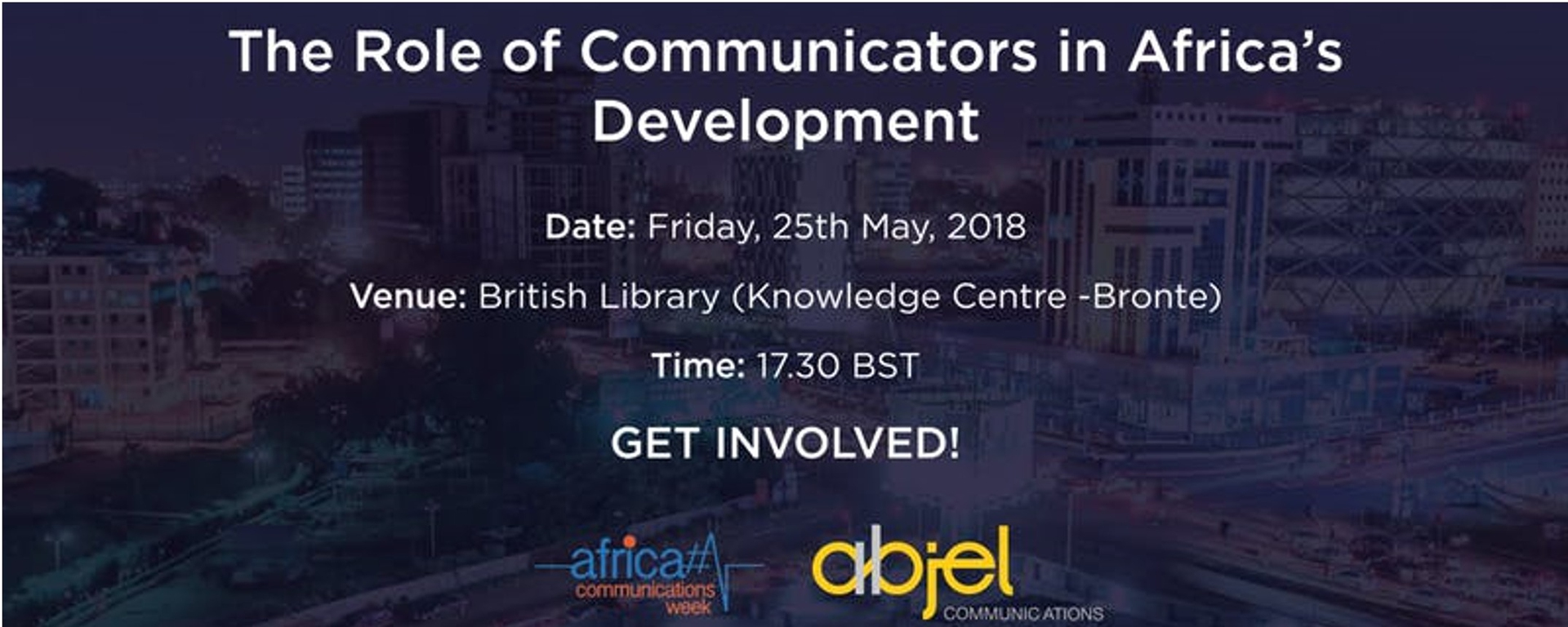 Abjel Communications - Africa Communications Week, London Movemeback African event cover image