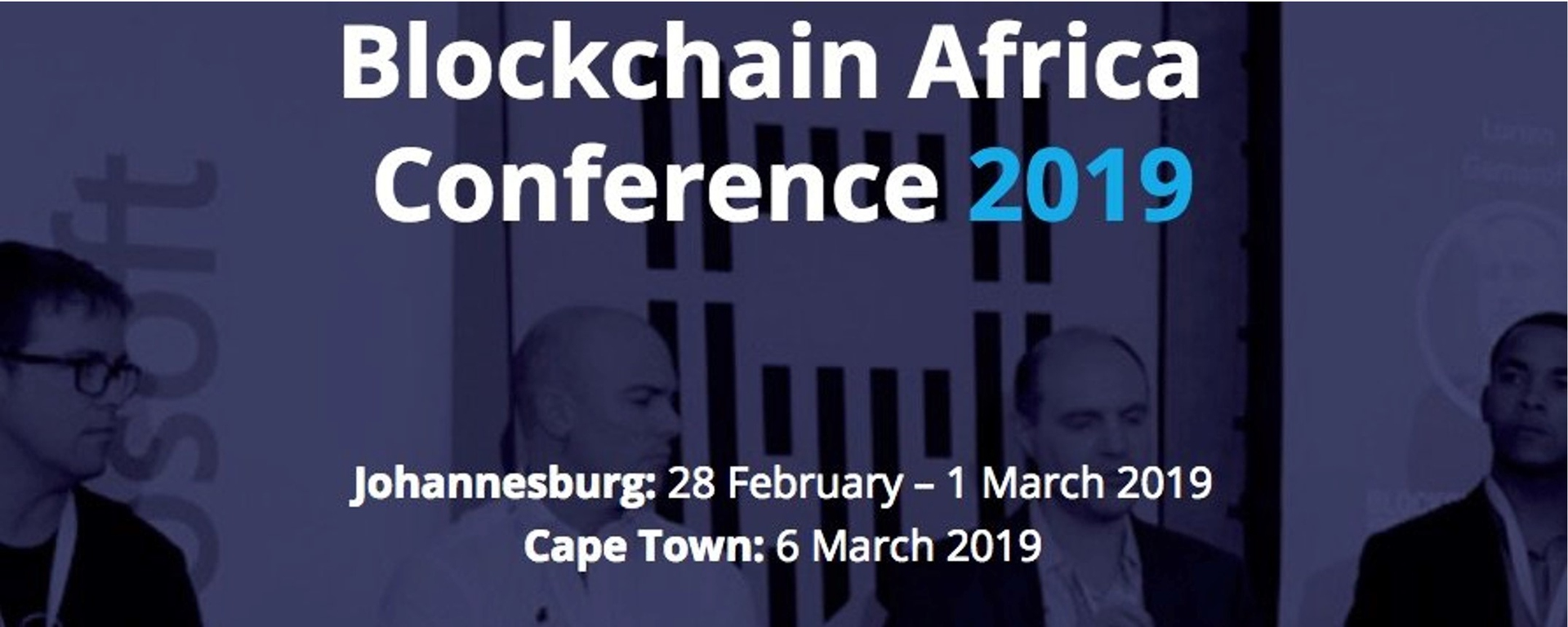 Blockchain Africa - Blockchain Africa Conference 2019 Johannesburg Movemeback African event cover image