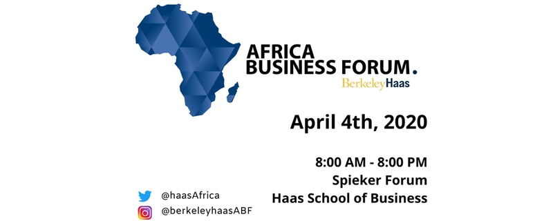 Berkeley-Haas Africa Business Forum - 6th Annual Berkeley-Haas Africa Business Forum Movemeback African event cover image