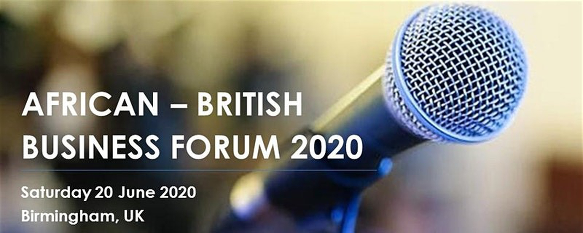 SSCG Consulting - African-British Business Forum 2020 Movemeback African event cover image