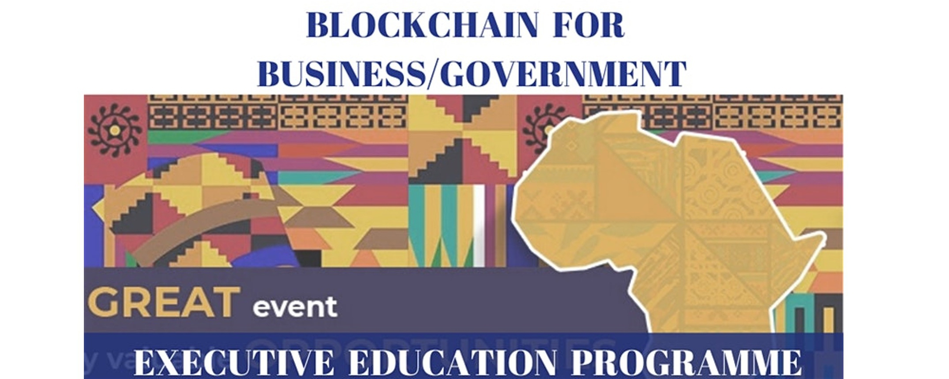 The Global Policy House - Blockchain Executive Education Programme Movemeback African event cover image