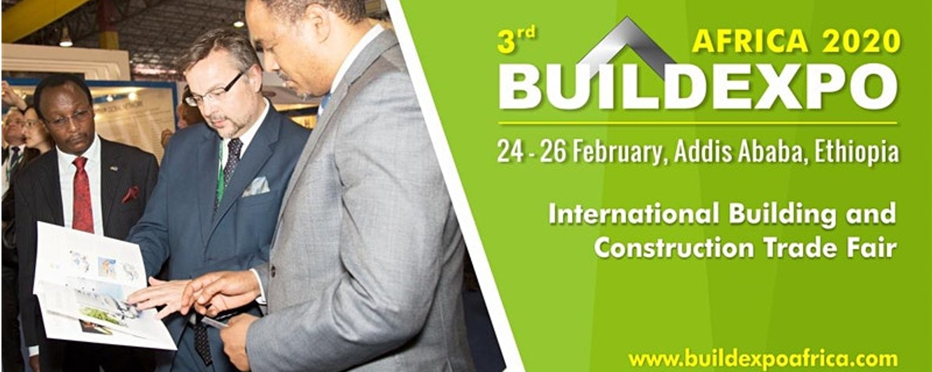Expogroup - 3rd Buildexpo Ethiopia 2020 Movemeback African event cover image