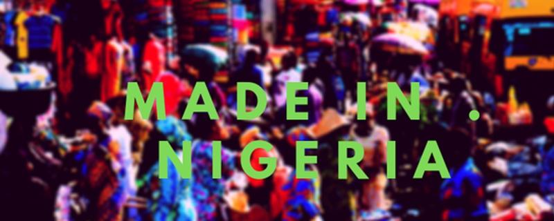 Made in Nigeria logo - Movemeback African event