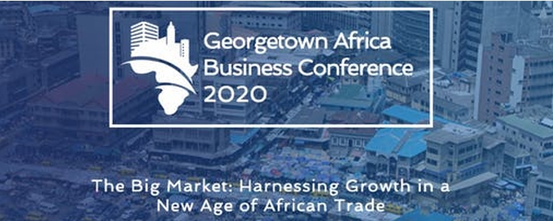 Georgetown University - Georgetown Africa Business Conference  2020 Movemeback African event cover image