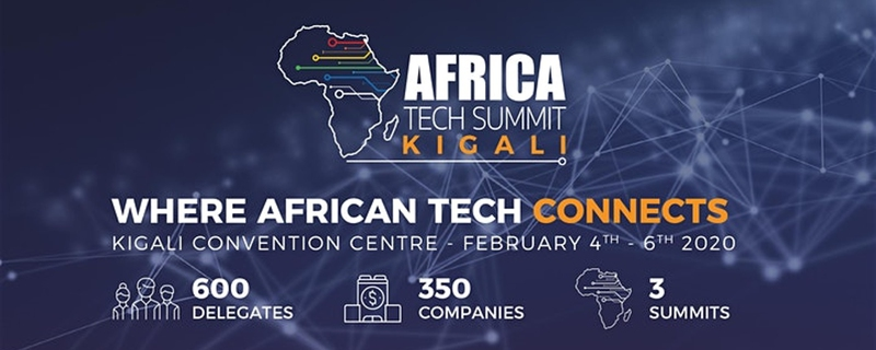 Africa Technology Summit - Africa Tech Summit Kigali 2020 Movemeback African event cover image