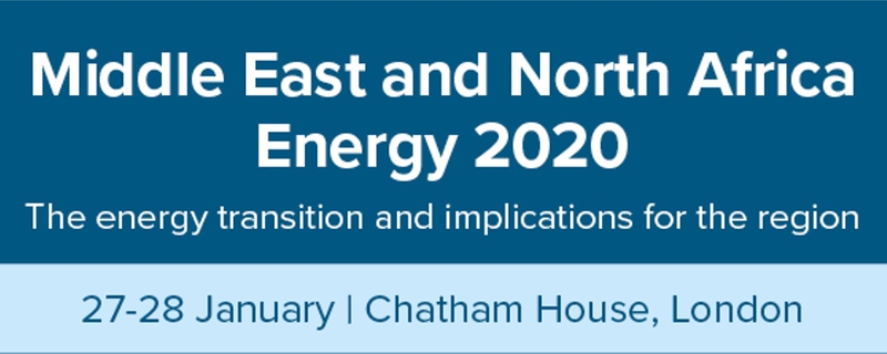 Chatham House - Middle East and North Africa Energy 2020 Movemeback African event cover image