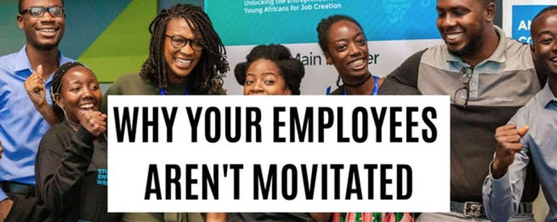 Akua Nyame-Mensah - Why Your Employees Aren't Motivated - FREE Masterclass Movemeback African event cover image