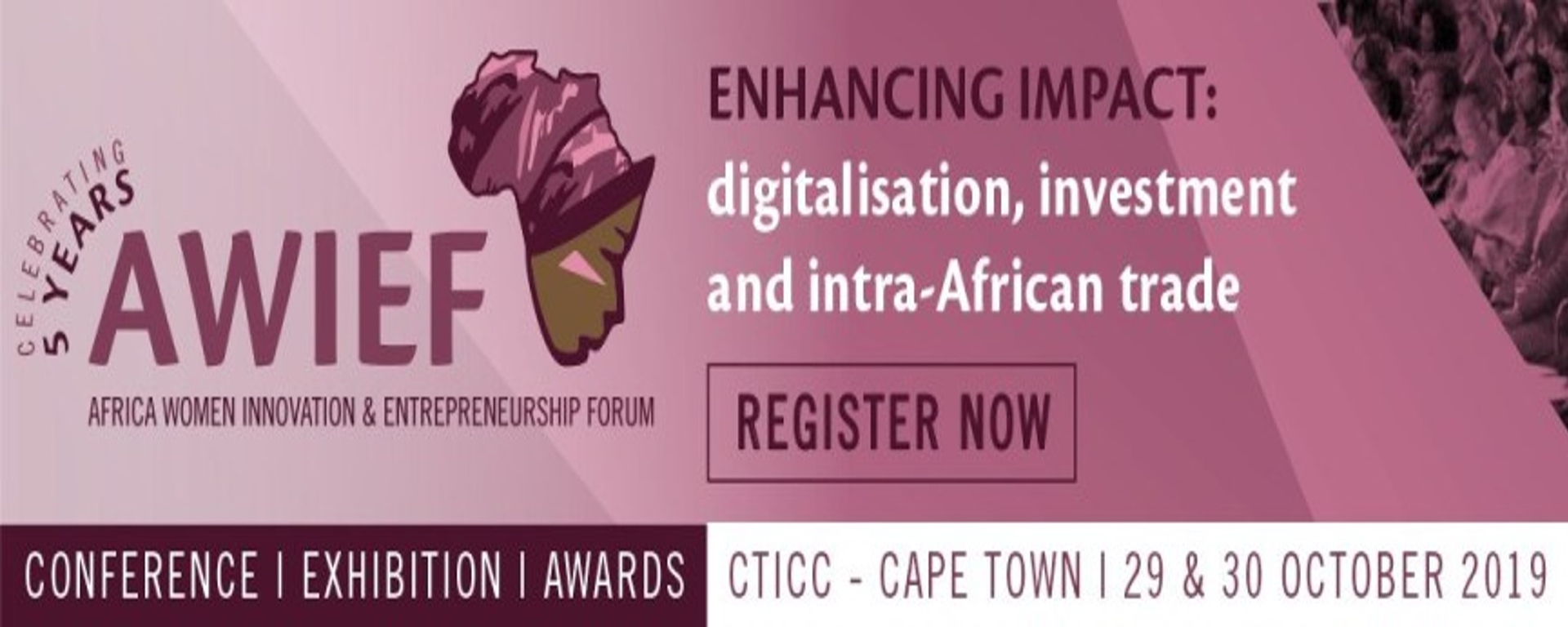 AWIEF - 5th Africa Women Innovation & Entrepreneurship Forum Conference & Exhibition Movemeback African event cover image