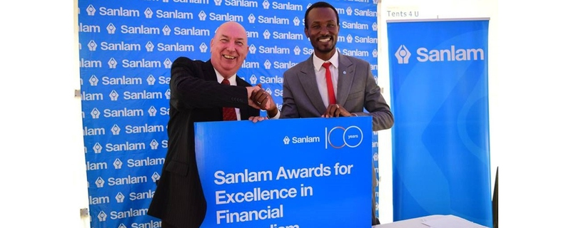 Sanlam - The Sanlam Awards for Excellence in Financial Journalism Movemeback African initiative cover image