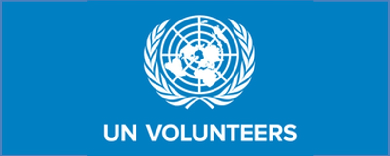 United Nations Volunteers logo - Movemeback African initiative