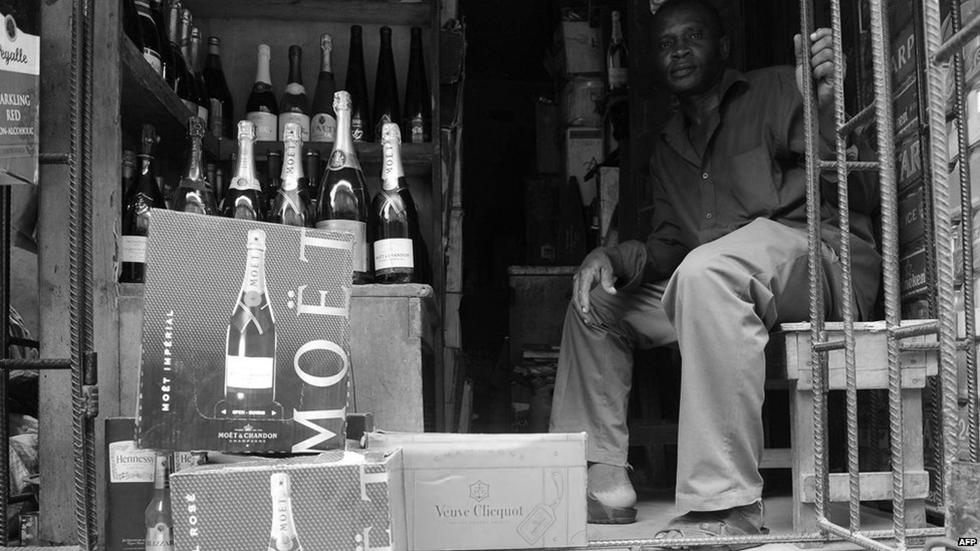 Champagne sales in Nigeria