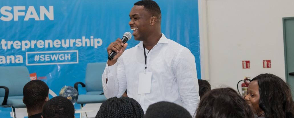 SFAN - Student Entrepreneurship Week Pan-Africa Movemeback African event cover image
