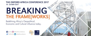 Oxford Africa Society - Oxford Africa Conference 2017 : Breaking the Frame[works] Movemeback African event cover image