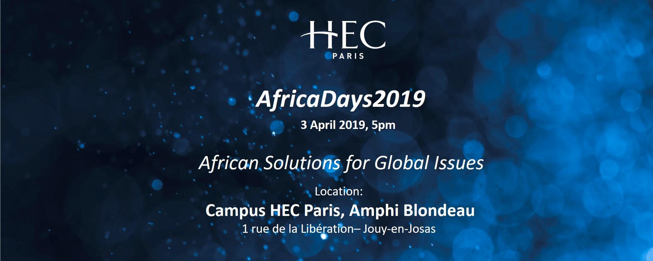 HEC Paris - HEC Paris - AfricaDays 2019 Movemeback African event cover image