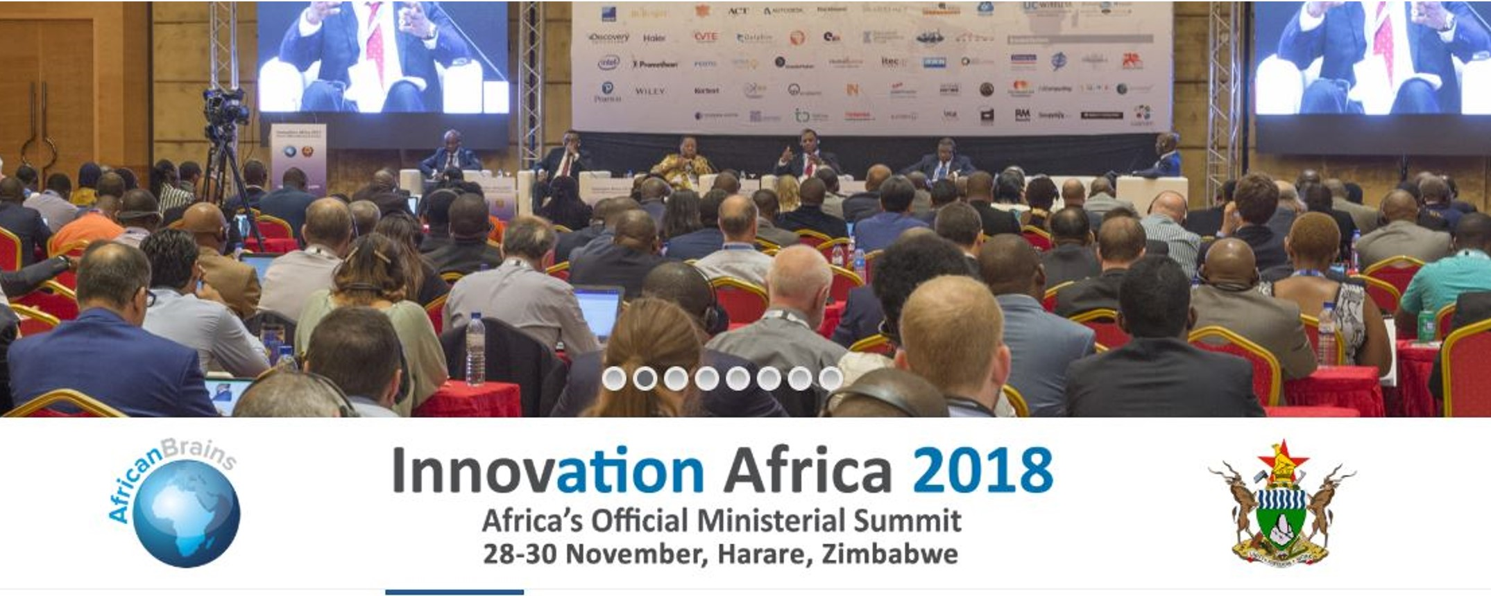 AricanBrains - Innovation Africa 2018 Movemeback African event cover image