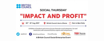 British Council - Social Thursday Movemeback African event cover image