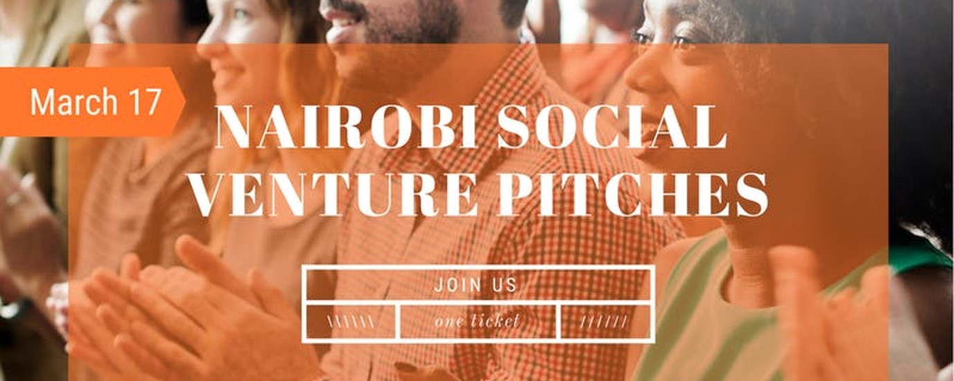 Archimedes Project - Nairobi Sanitation Challenge Social Enterprise Pitch Event! Movemeback African event cover image