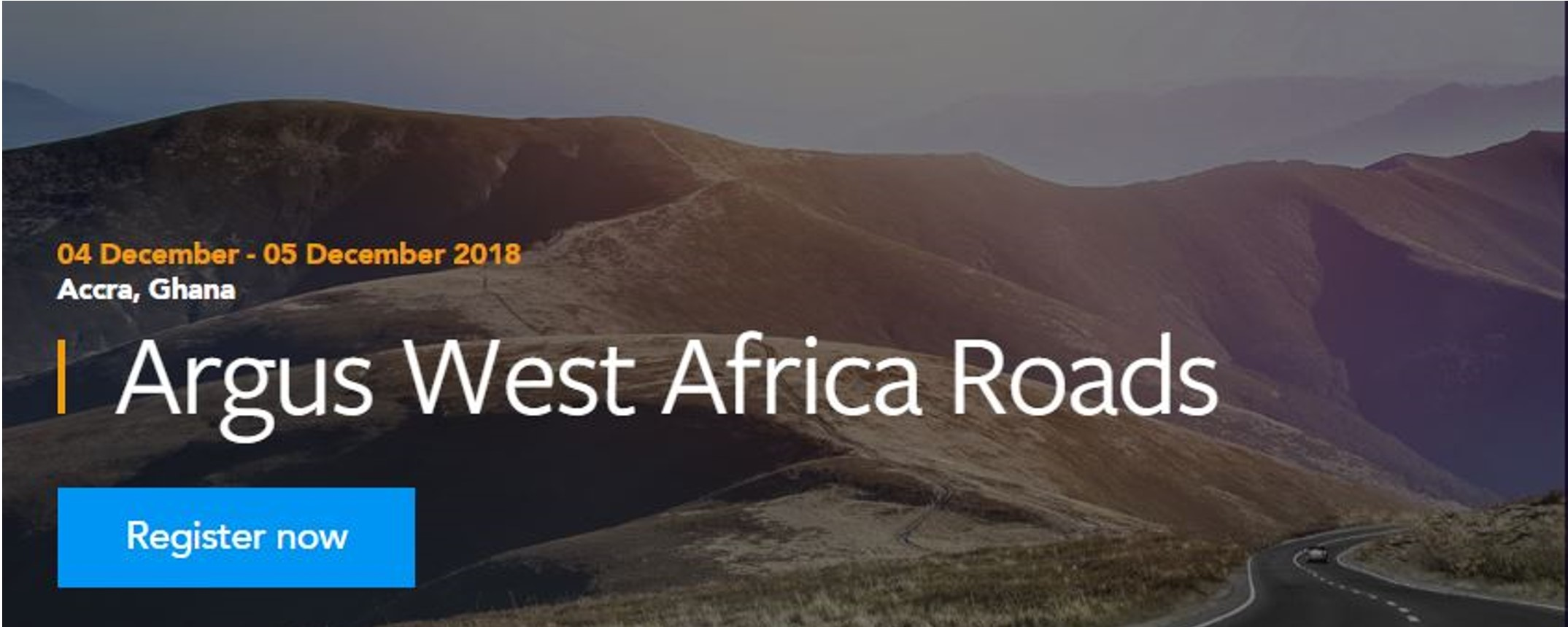 Argus - Argus West Africa Roads 2018 Movemeback African event cover image