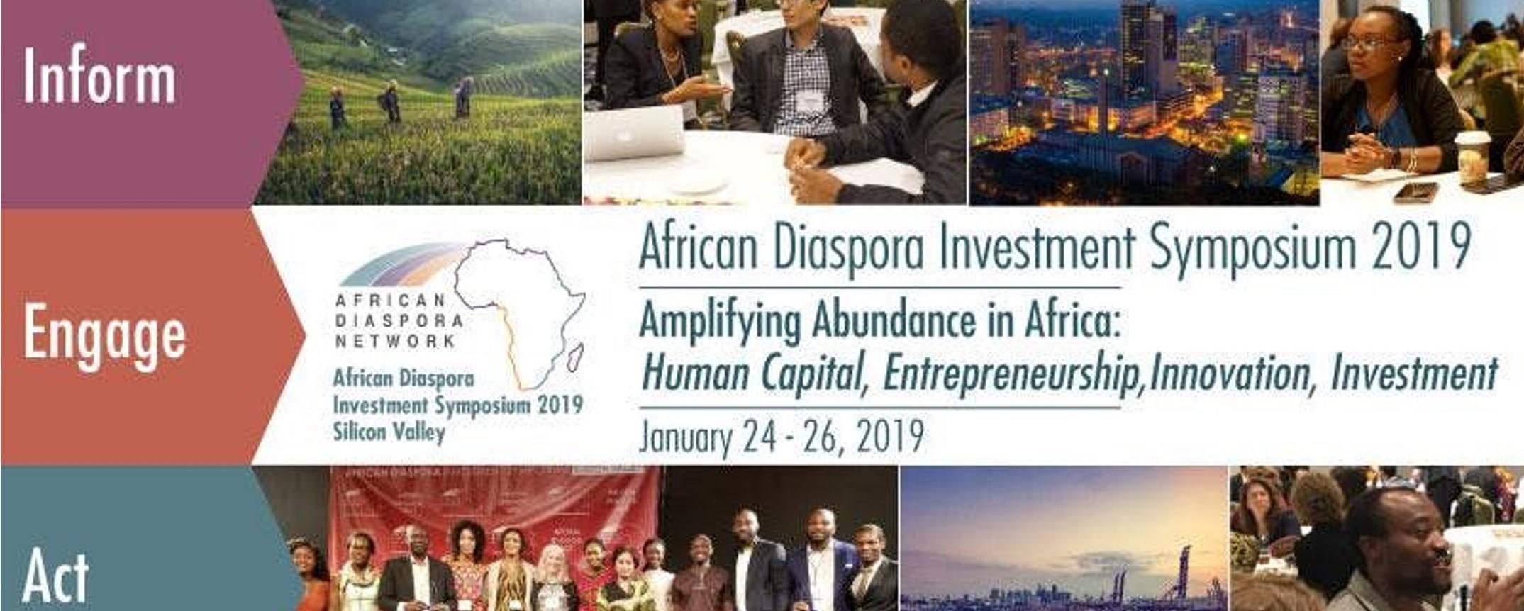 African Diaspora Network - The African Diaspora Investment Symposium 2019 (ADIS2019) Movemeback African event cover image