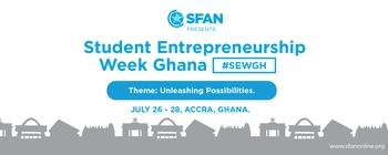 Stars From All Nations - Student Entrepreneurship Week Ghana Movemeback African event cover image