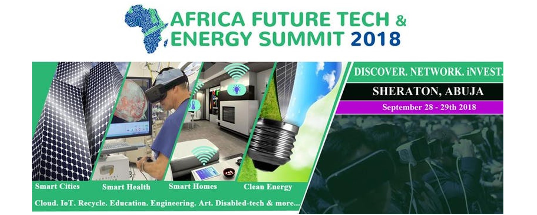 Africa Future Tech & Energy Summit - Africa Future Tech & Energy Summit 2018 Movemeback African event cover image