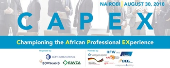 I-DEV International - CAPEX Conference: Championing the African Professional Experience Movemeback African event cover image