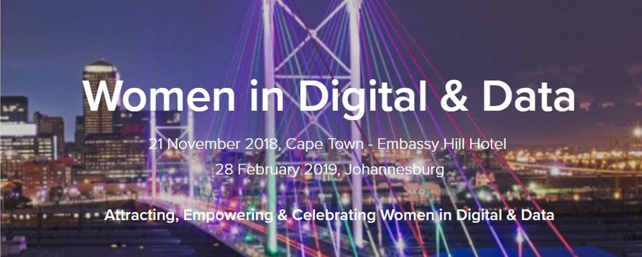 Corinium - Women in Digital & Data – Cape Town Movemeback African event cover image