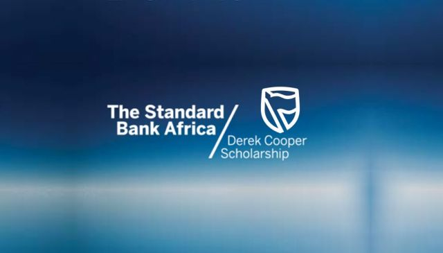 Standard Bank - Derek Cooper Scholarship Movemeback African initiative cover image