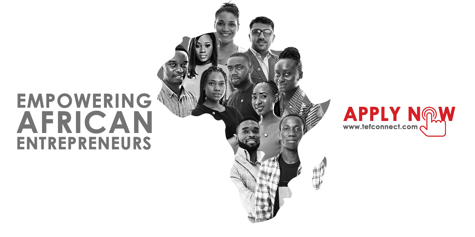 The Tony Elumelu Foundation - TEF Entrepreneurship Program Movemeback African initiative cover image