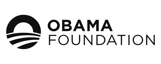 The Obama Foundation logo - Movemeback African initiative