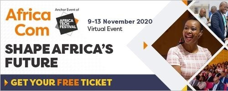 Informa Tech - Africacom 2020: Accelerating Business Transformation to Strengthen African Economies Movemeback African event cover image