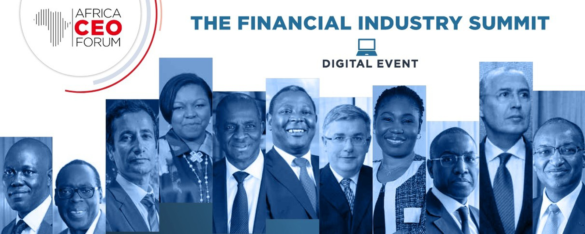 Africa CEO Forum - The Financial Industry Summit Movemeback African event cover image