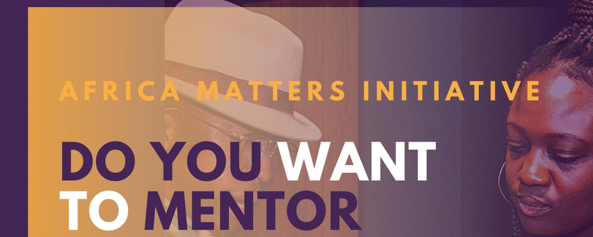 Africa Matters Initiative - Africa Matters Ambassadors Program Movemeback African initiative cover image