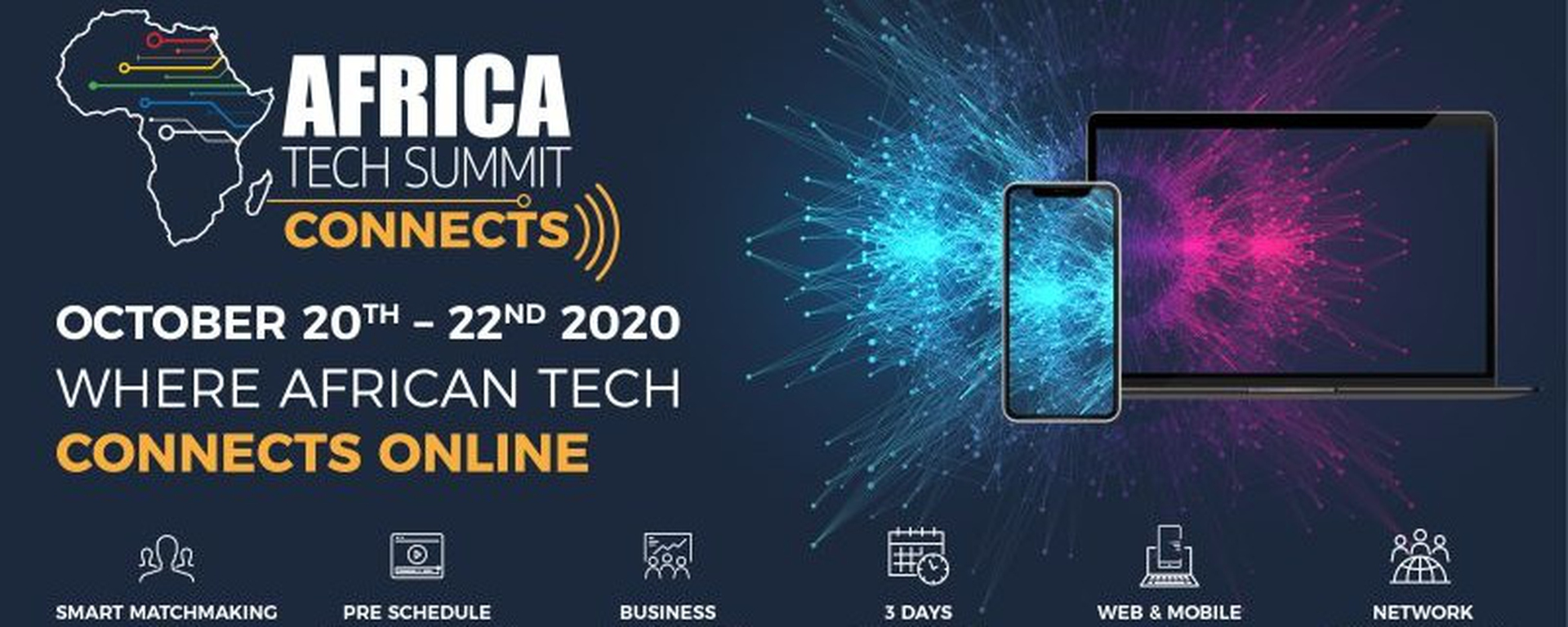 Africa Technology Summit - Africa Tech Summit: Where African Tech Connects Movemeback African event cover image