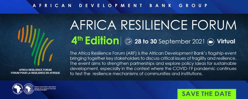African Development Bank - Africa Resilience Forum Movemeback African event cover image