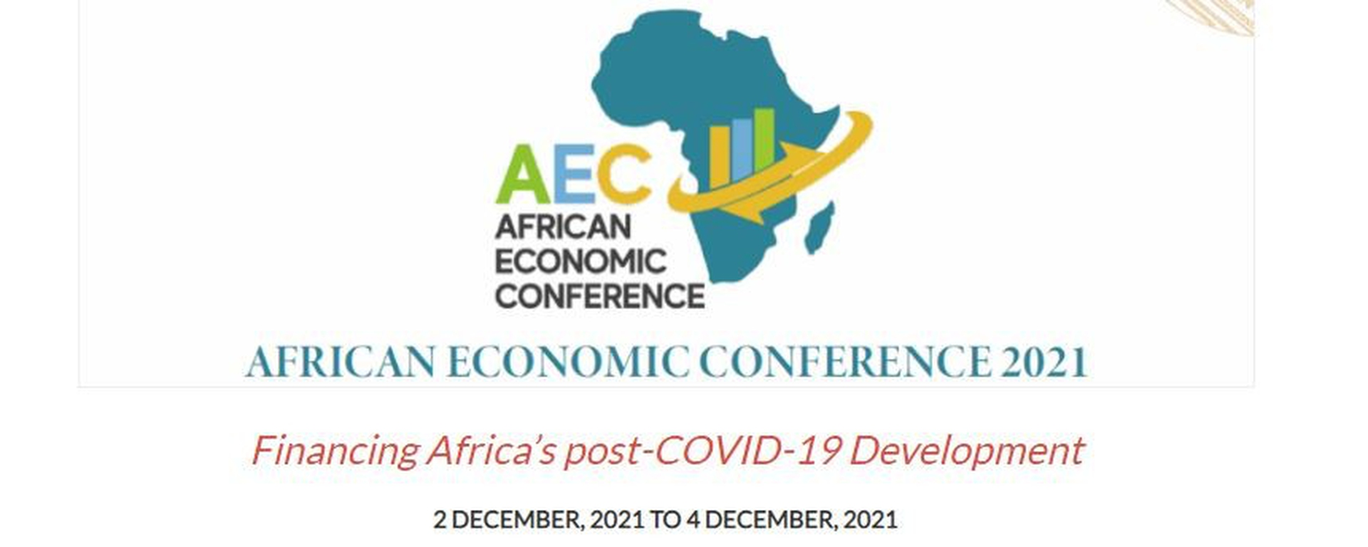 African Development Bank - African Economic Conference 2021 Movemeback African event cover image