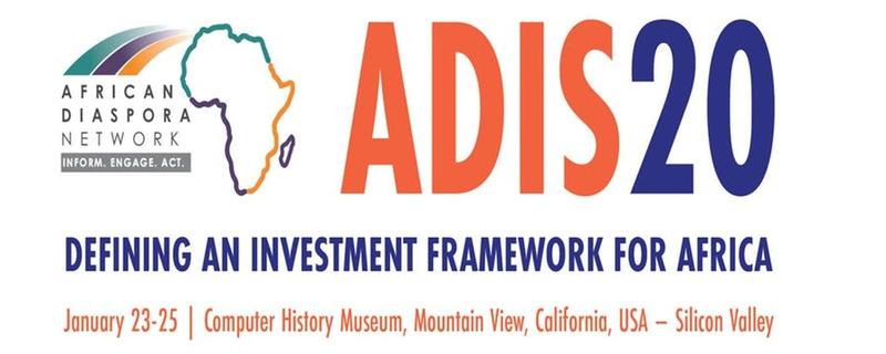African Diaspora Network - ADIS 2020 - Defining an Investment Framework for Africa Movemeback African event cover image