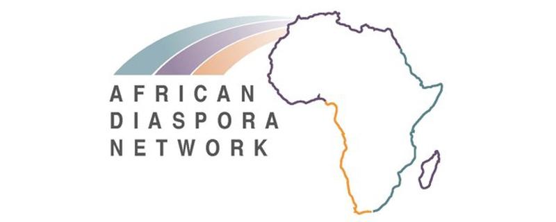 African Diaspora Network logo - Movemeback African event