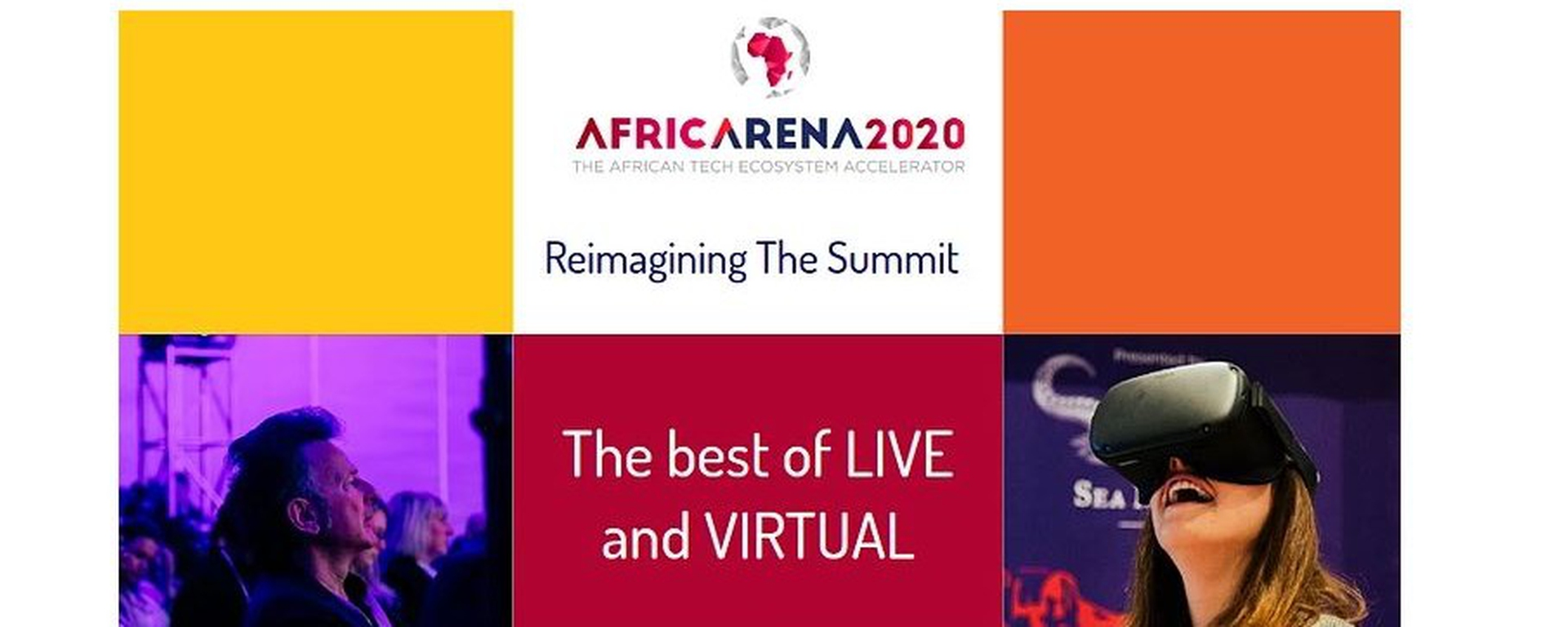 AfricArena - AfricArena Summit: Accelerating Africa's Tech Future Movemeback African event cover image
