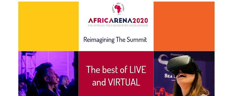 AfricArena - Africa Arena Summit: Accelerating Africa's tech future Movemeback African event cover image
