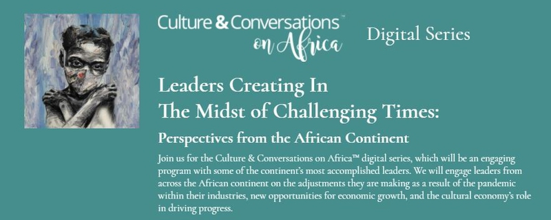 Culture and Conversations in Africa - Culture & Conversations on Africa: Perspectives from the African Continent Movemeback African event cover image