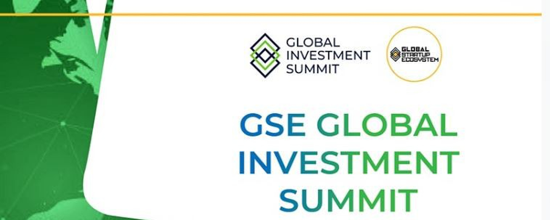 Global Startup Ecosystem - GSE Global Investment Summit Movemeback African event cover image