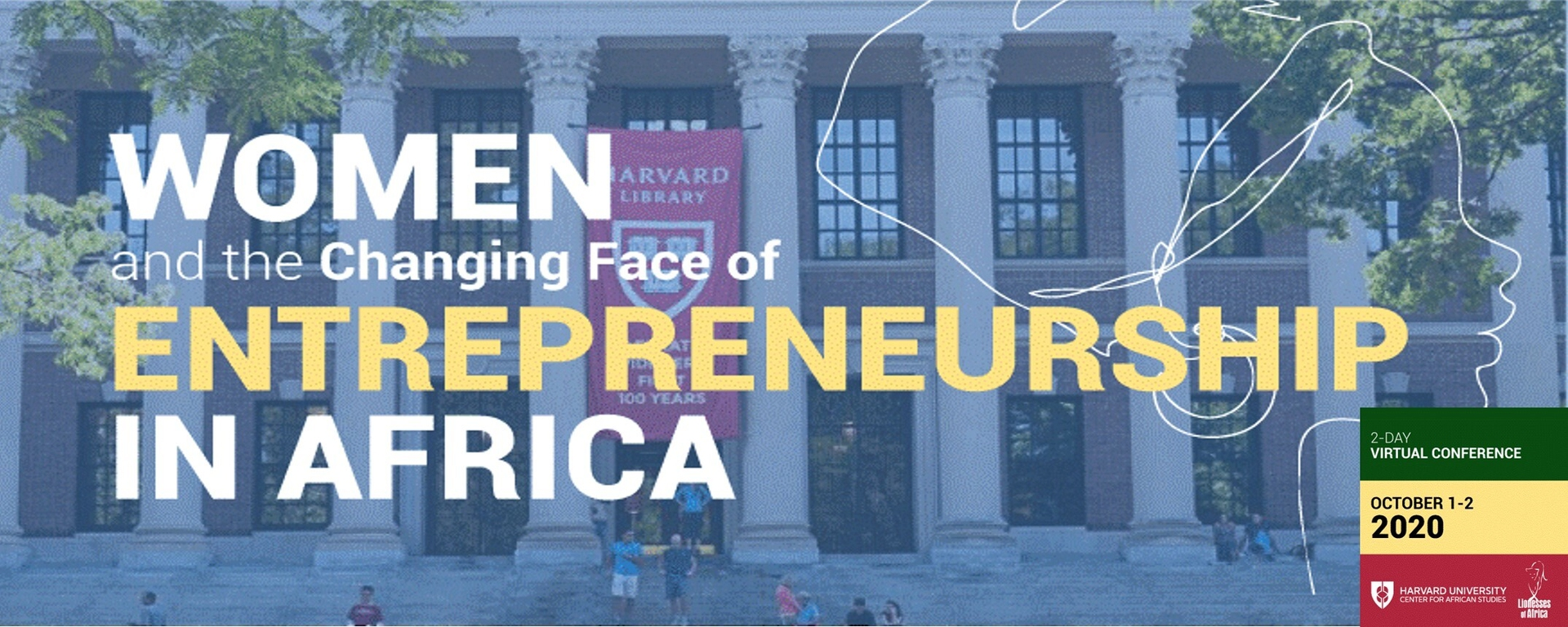 Harvard University Center for African Studies - Women and the Changing Face of Entrepreneurship in Africa Conference Movemeback African event cover image