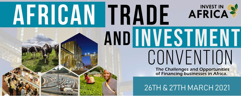 Invest Africa - Africa Trade and Investment Convention Movemeback African event cover image