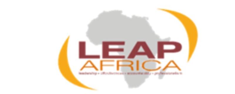 Leap Africa logo - Movemeback African initiative
