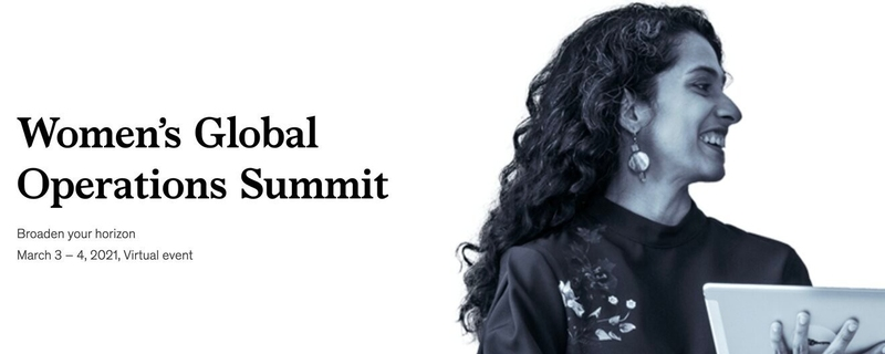 McKinsey & Company - Women's Global Operations Summit Movemeback African event cover image