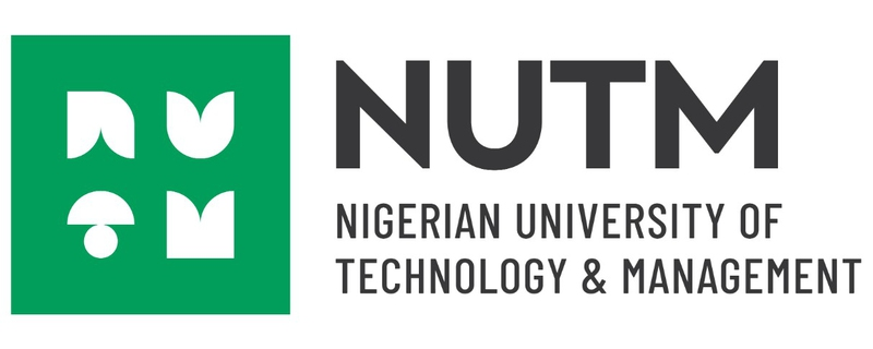 Nigerian University of Technology and Management (NUTM) logo - Movemeback African initiative