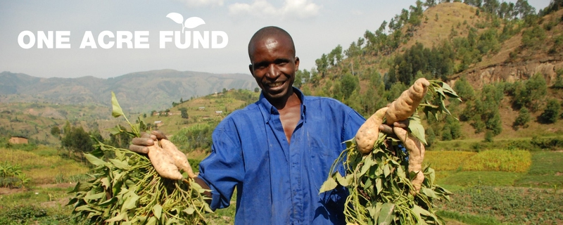 One Acre Fund - Monitoring, Evaluation and Learning Associate Movemeback African opportunity cover image